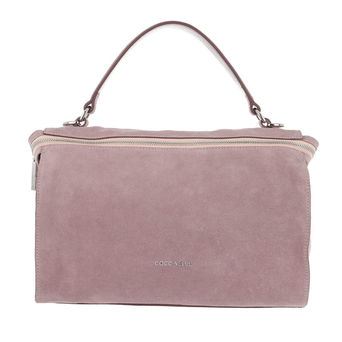 Coccinelle Satchel Bags - Arlettis Suede Crossbody Bag Pivoine - - Satchel Bags for ladies Discount Footlocker Finishline Outlet Inexpensive Great Deals Sale Online XCoDrLNv