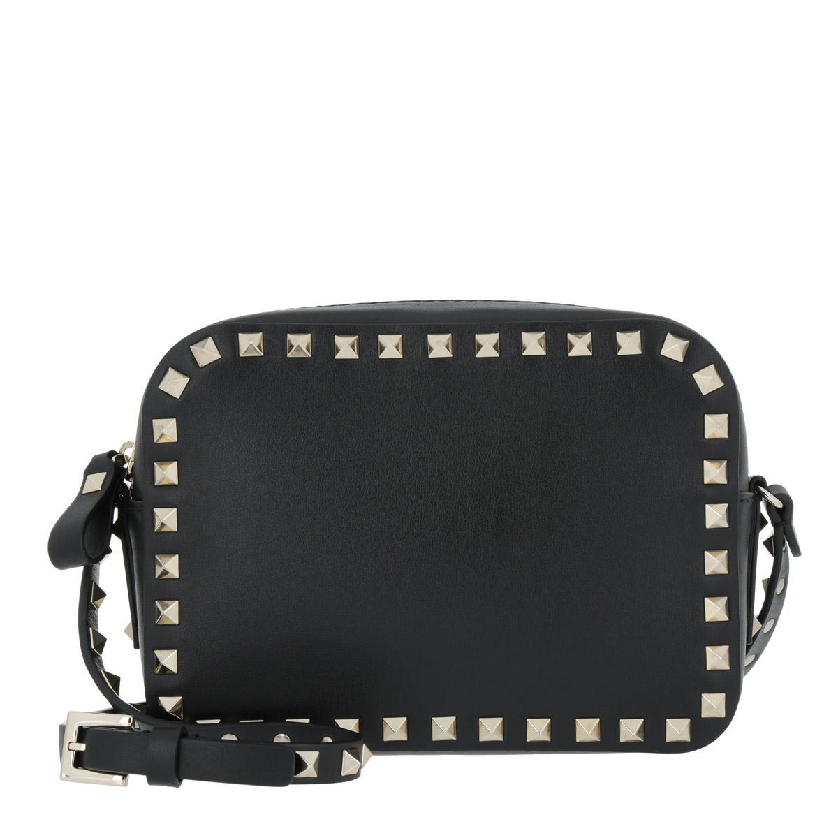Valentino Rockstud Camera Crossbody Bag Black in Black - Lyst c1bc7fb2cf