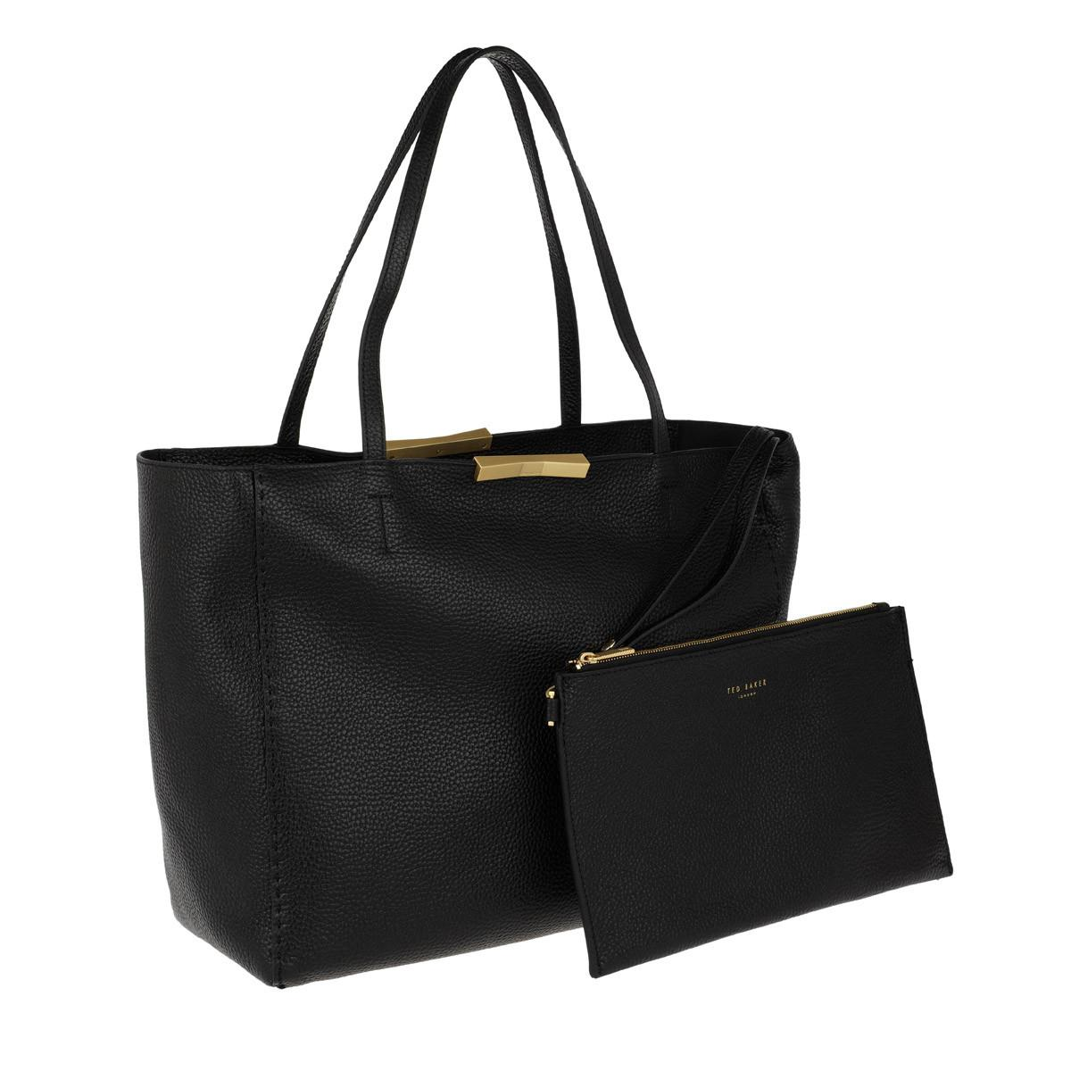 Ted Baker Leather Caullie Tote Black