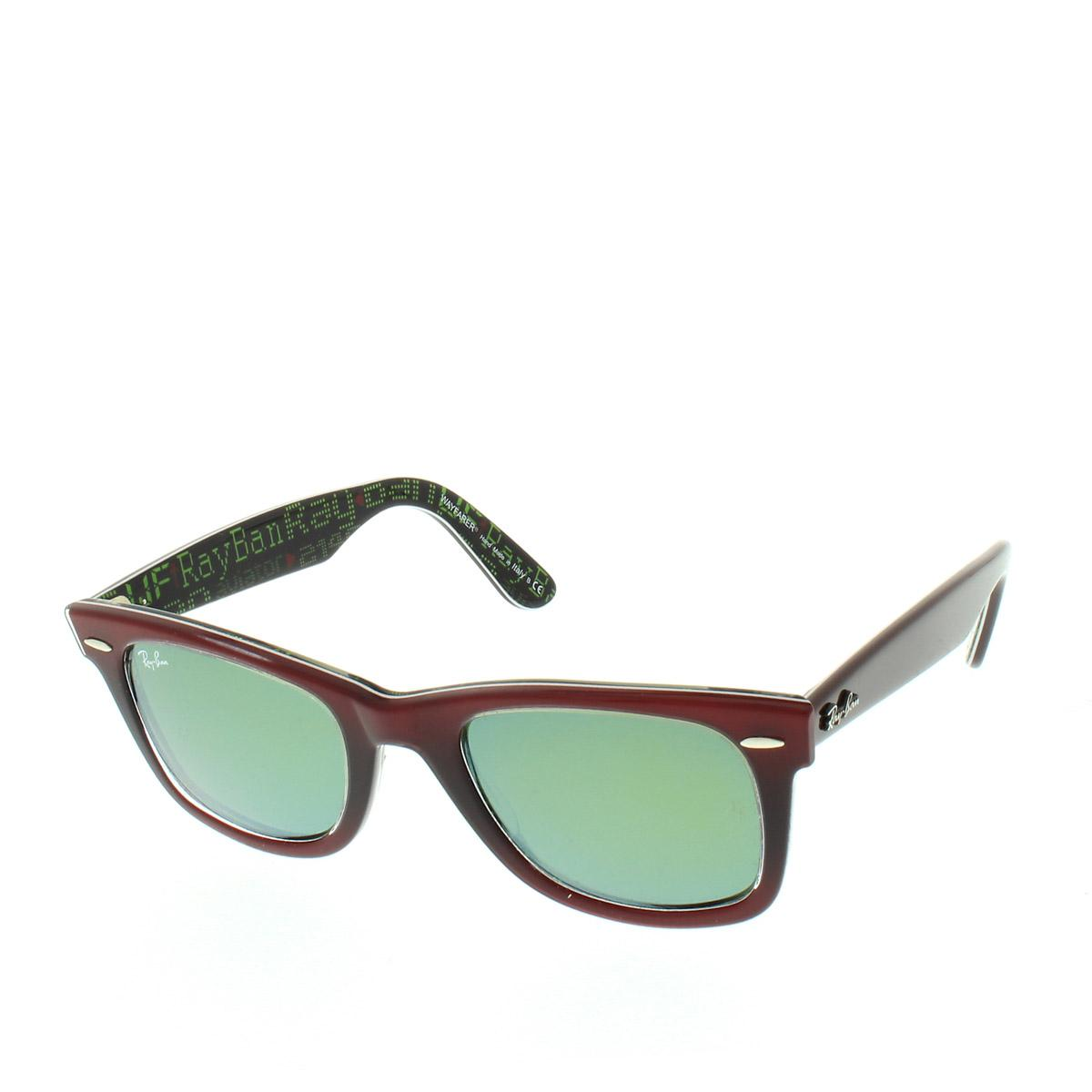 3777c2975f Ray-Ban Wayfarer Rb 0rb2140 50 12022x in Red - Lyst