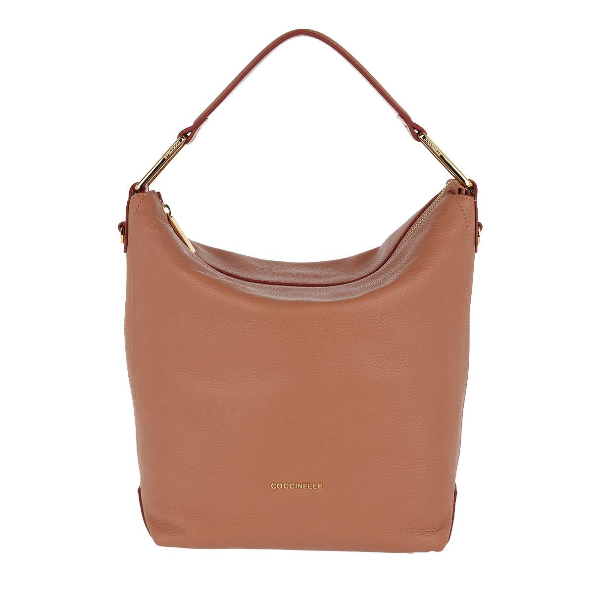 a31bf224cd8e Coccinelle Liya Leather Hobo Bag Argile bourgogne in Brown - Lyst