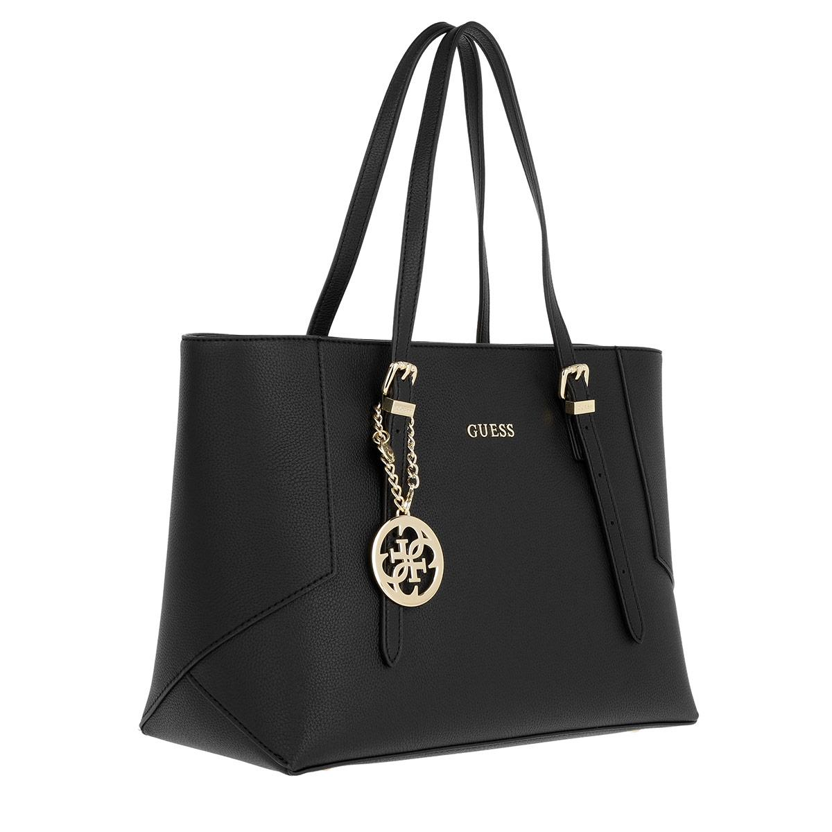 Guess Synthetic Isabeau Tote Bag Black