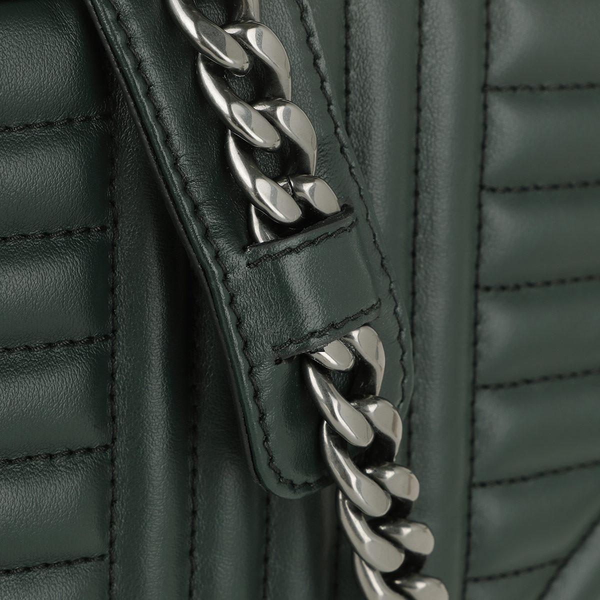 Prada Leather Diagramme Crossbody Bag Smeraldo in Green