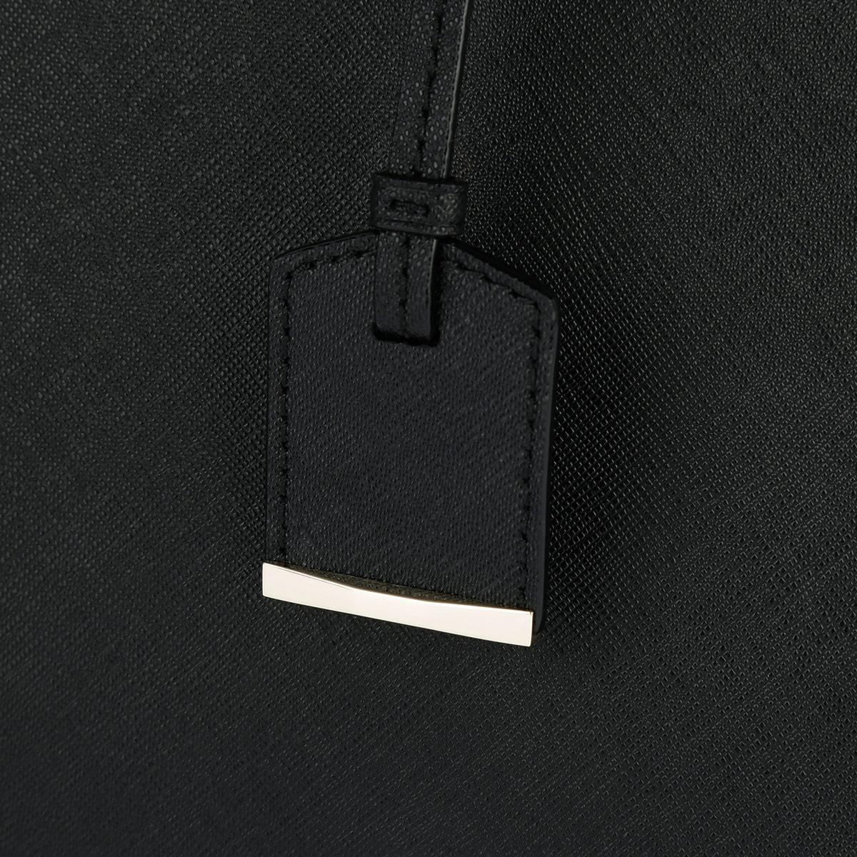 Kate Spade Leather Jensen Cameron Street Tote Black