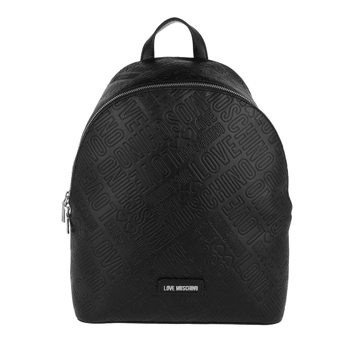 fdbf9b5dca Love Moschino Embossed Backpack Nero in Black - Lyst