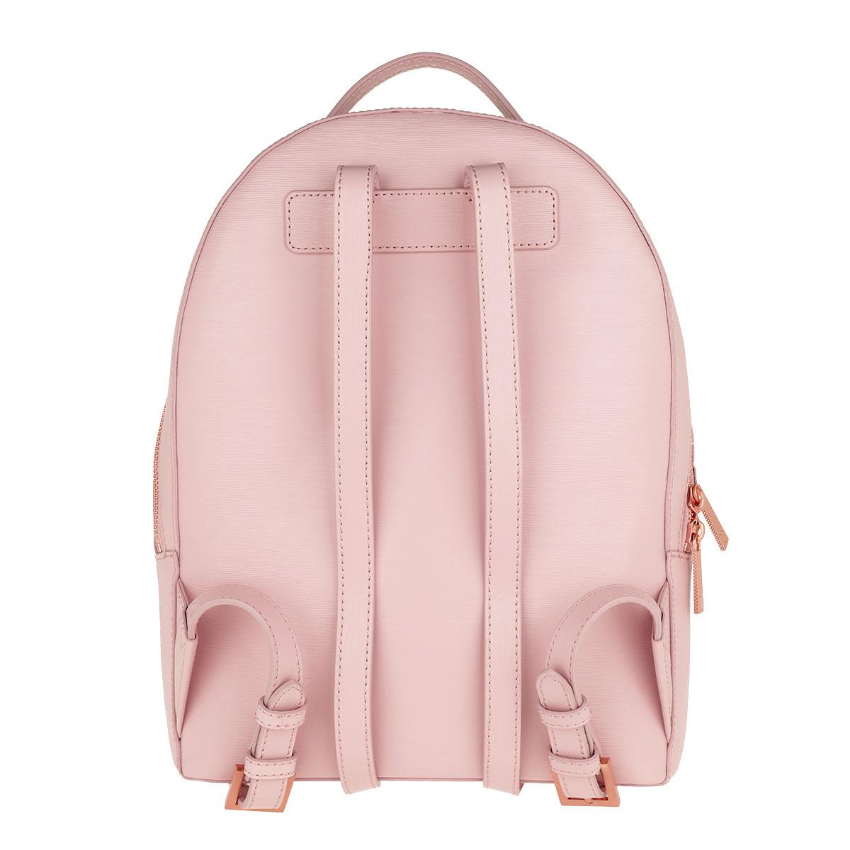 b18189656 Ted Baker - Jenyy Faceted Bow Detail Backpack Light Pink - Lyst. View  fullscreen