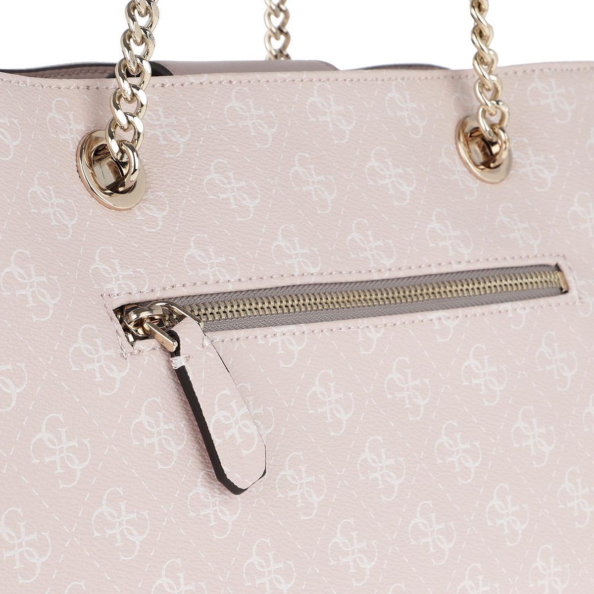 Guess Mia Girlfriend Carryall Blush in Pink - Lyst 865d58b28c028