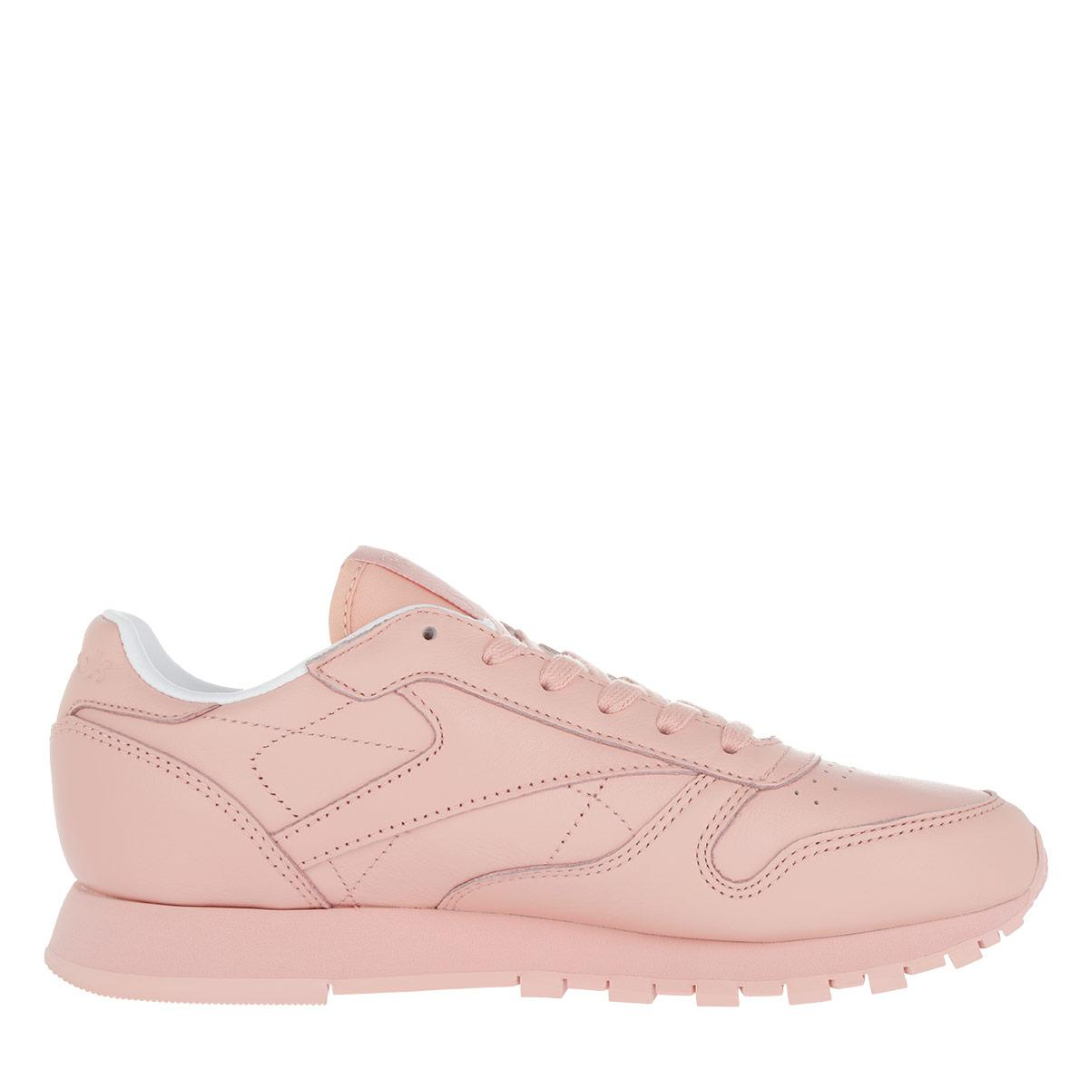 Reebok Classic Leather Pastels Sneaker Patina Pink / White