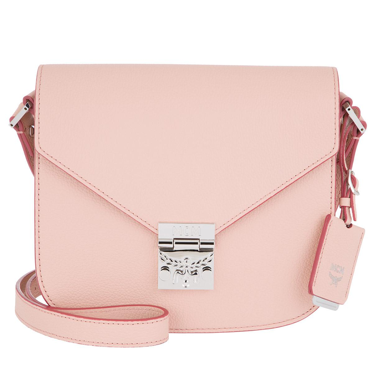 Patricia Small Bag in Blush Pink Park Avenue Leather MCM iBiEwe2
