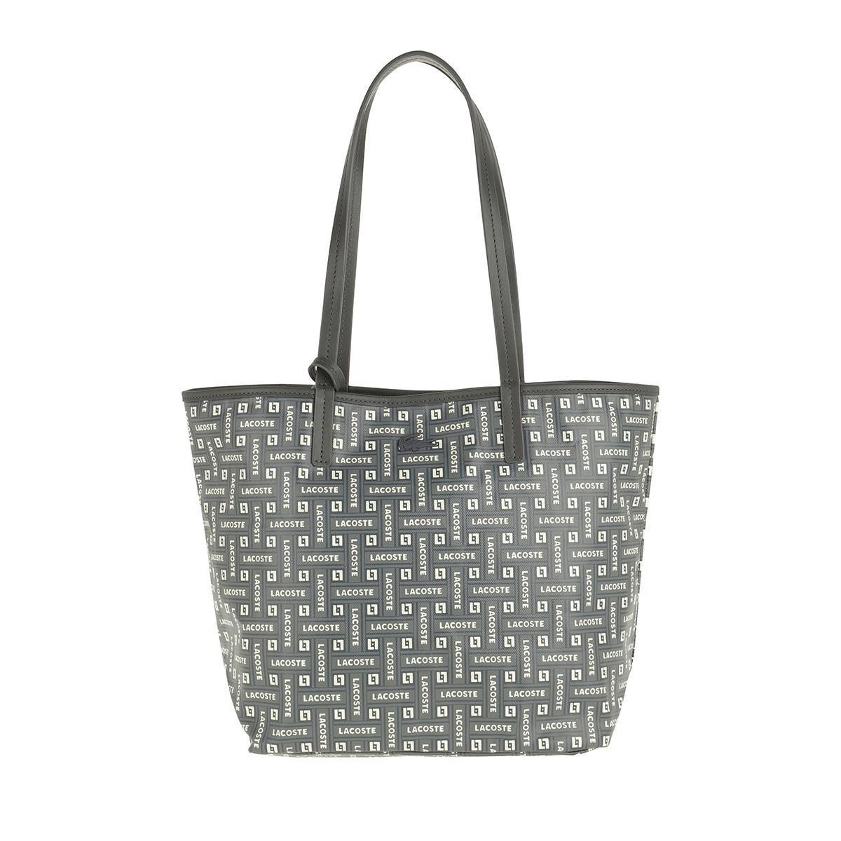 b1d7f52b3fd2c Lacoste - S Shopping Bag Blue - Lyst. View fullscreen