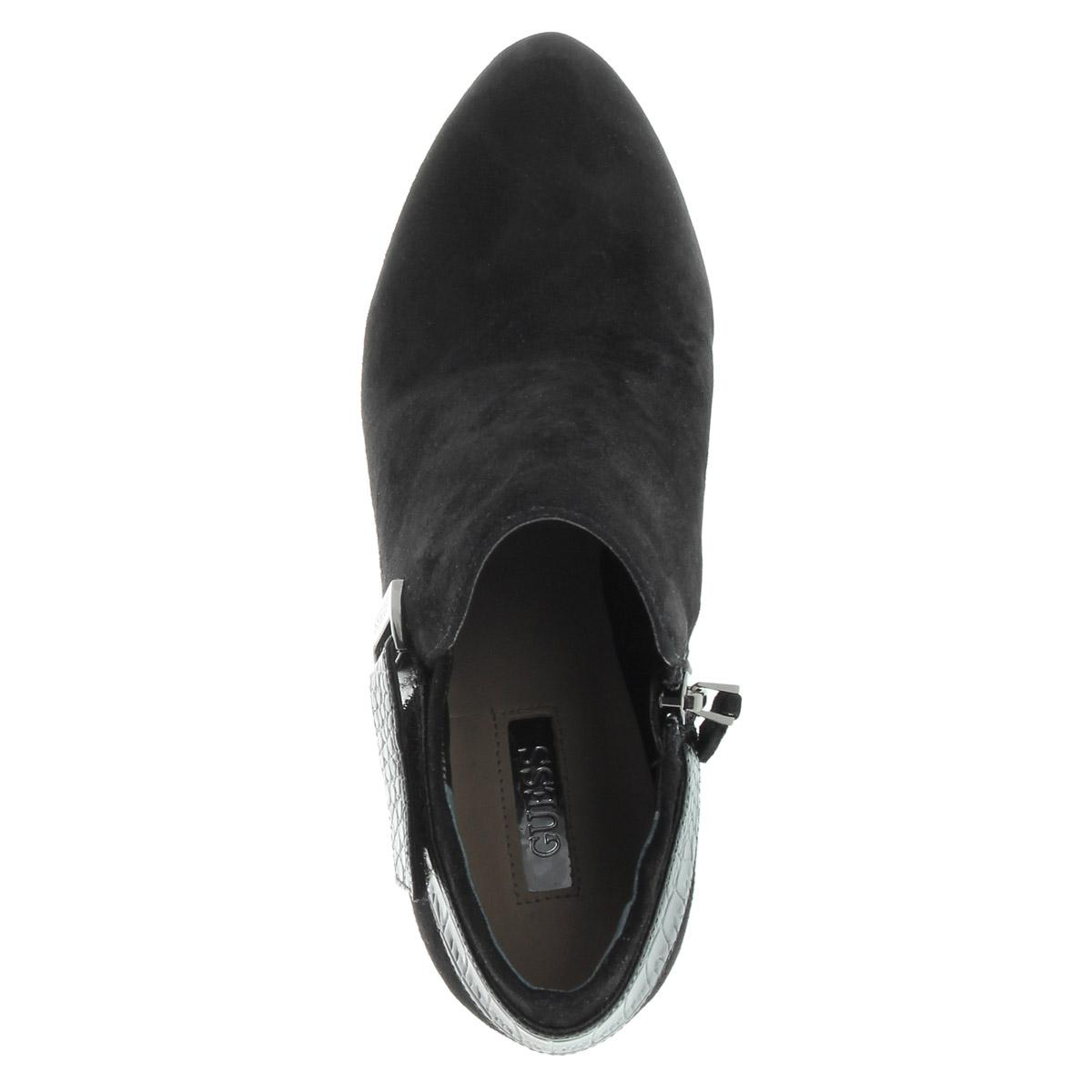 Guess Ankle Boot Suede Black