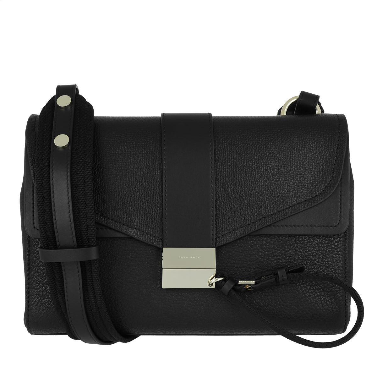 Shoulder bag in smooth Italian leather BOSS PI1e1PuAN