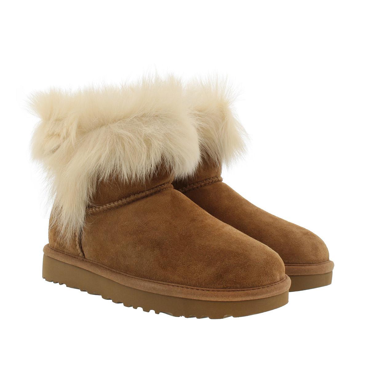 2425da31a19 Ugg Brown W Milla Classic Boot Chestnut
