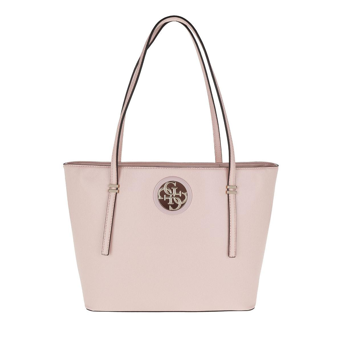 Guess Open Road Tote Blush in Pink - Lyst b353bf7119ca9