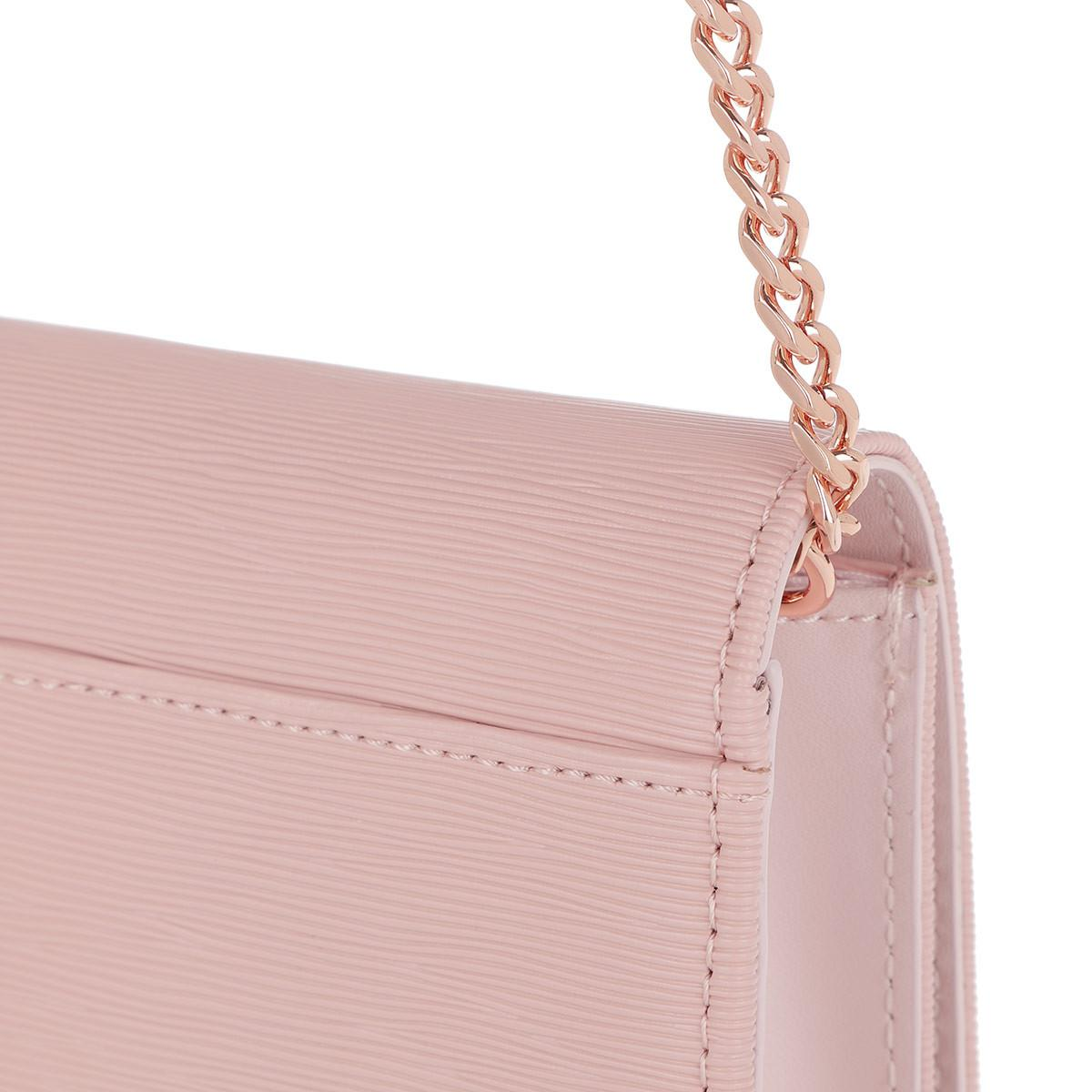 Ted Baker Leather Abriana Crossbody Bag Light Pink