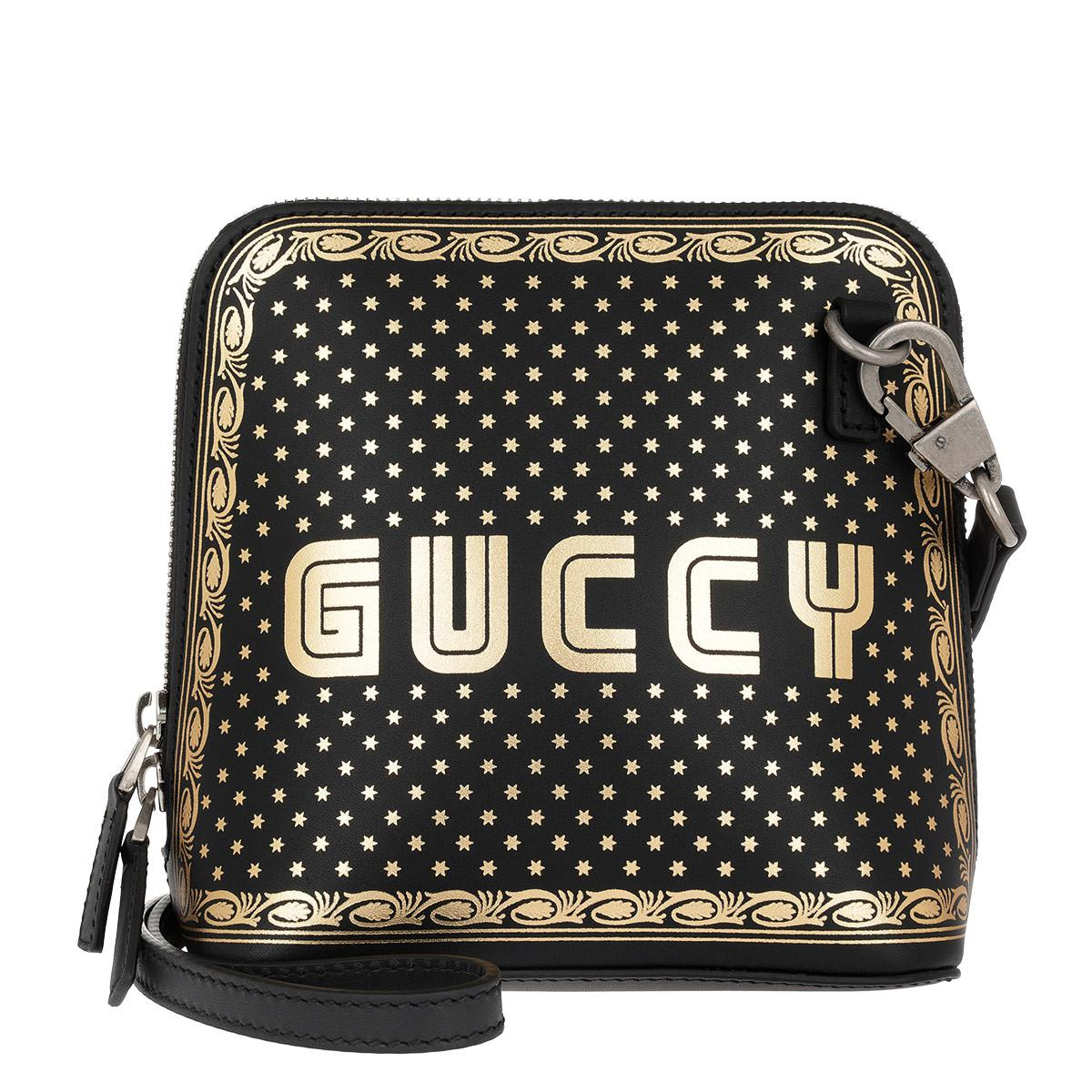 3476dbb5347750 Gucci Guccy Mini Shoulder Bag Black in Black - Save 59% - Lyst