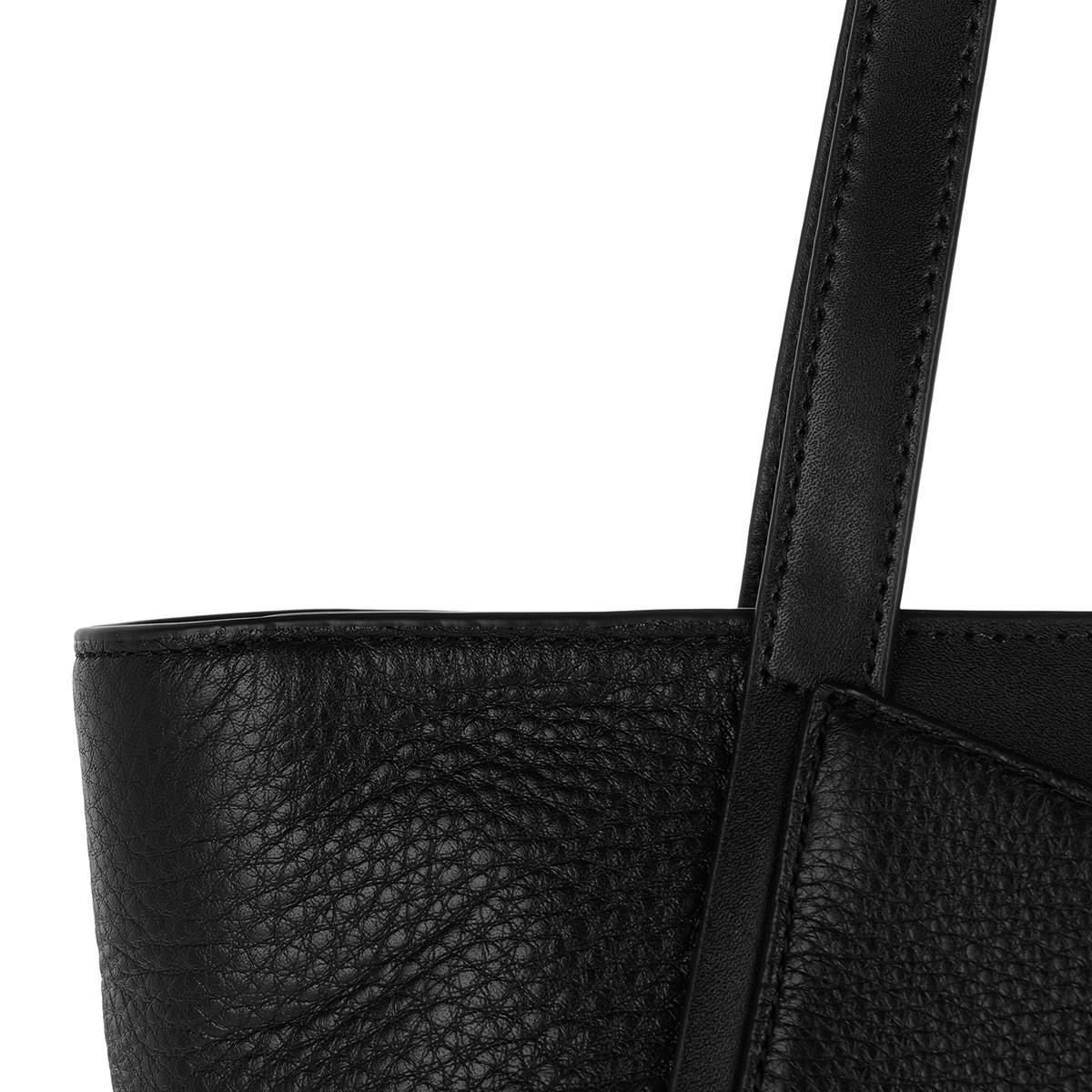 051cad5332d7f8 Michael Kors - Whitney Sm Tz Tote Black/silver - Lyst. View fullscreen