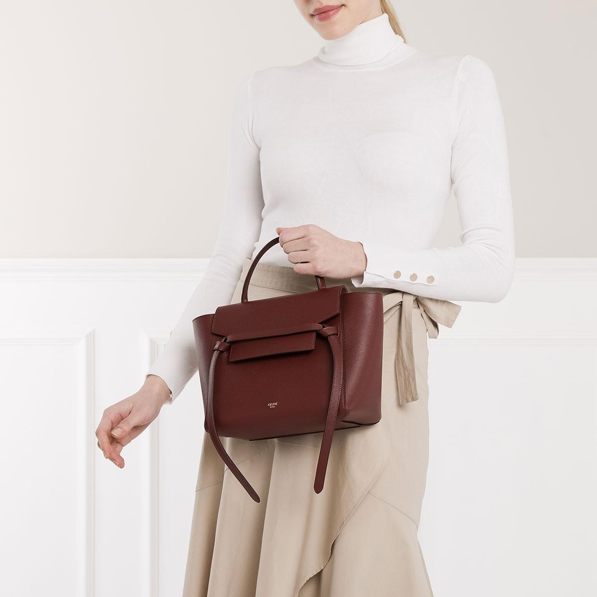 Free Shipping Celine Micro Belt Bag Red Up To 77 Off