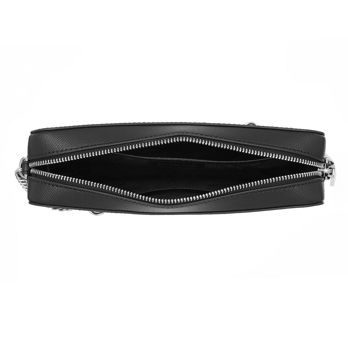 MICHAEL Michael Kors Leather Large Ew Crossbody Bag Black