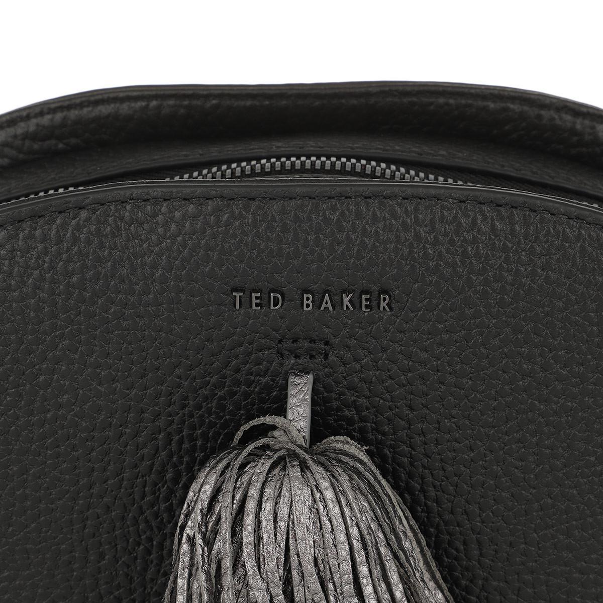 Ted Baker Leather Maaryy Crossbody Bag Black
