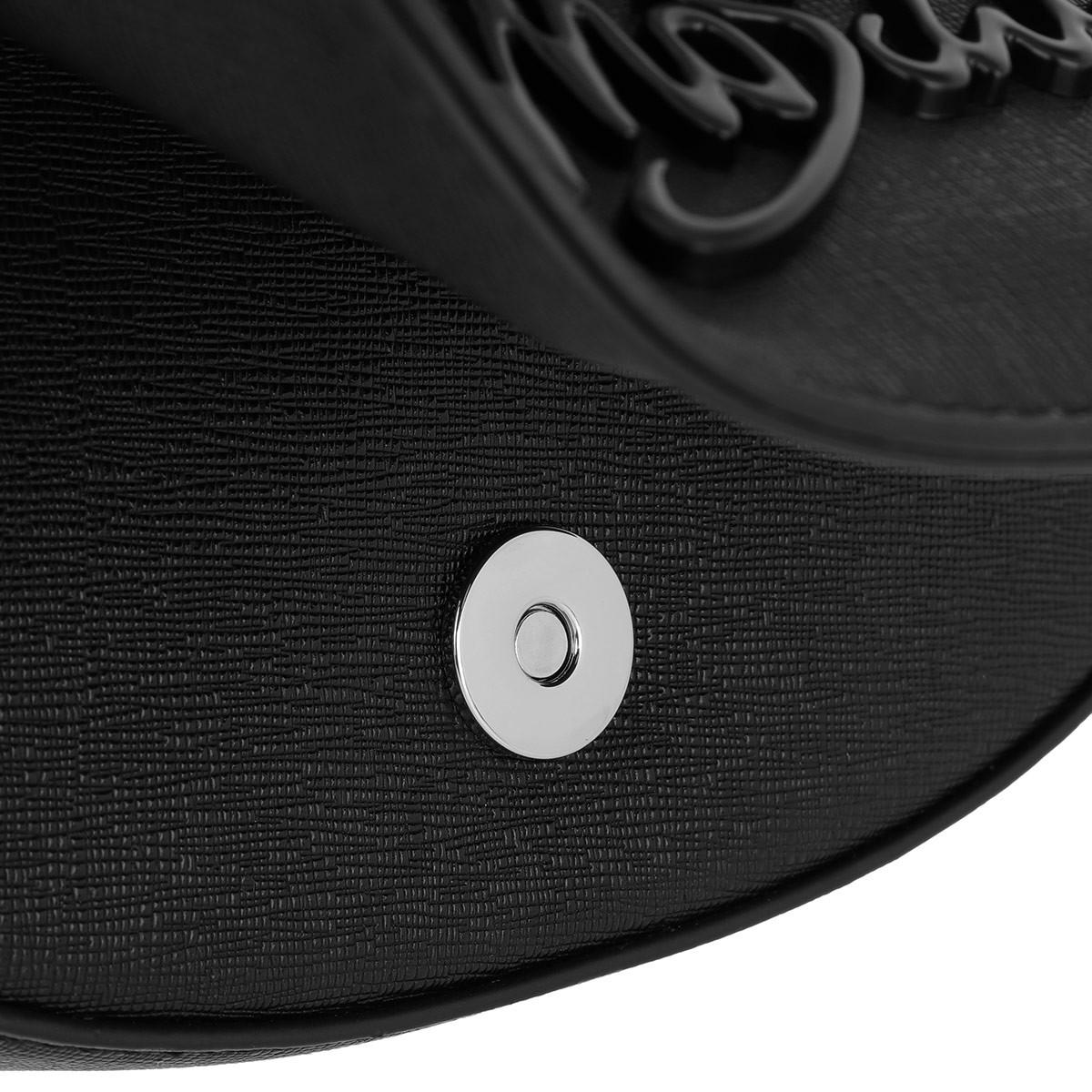 Love Moschino Synthetic Crossbody Bag Scarf Logo Nero/logo Nero in Black