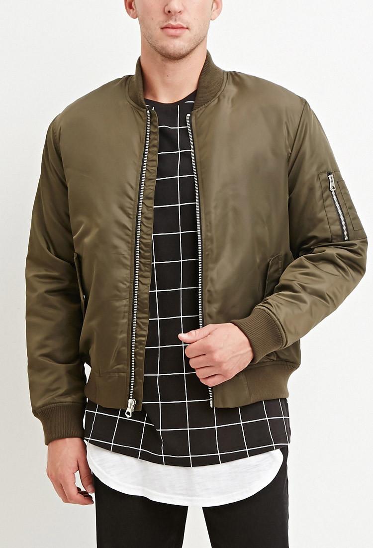 Classic bomber jacket green