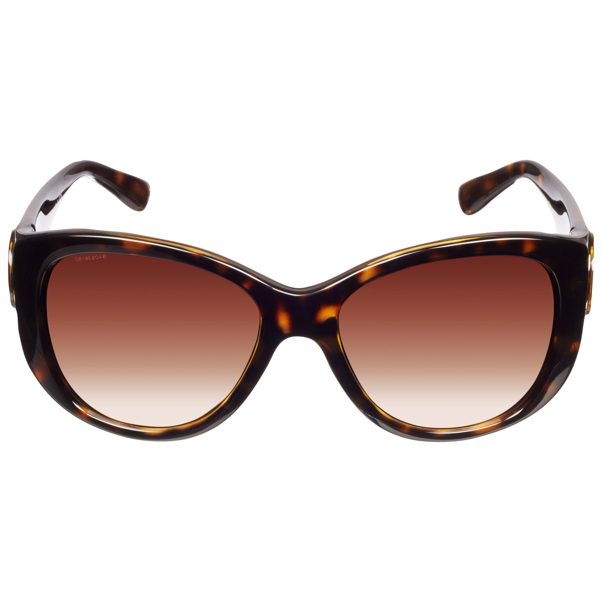 Giorgio Armani Square Lens Sunglasses in Brown - Lyst