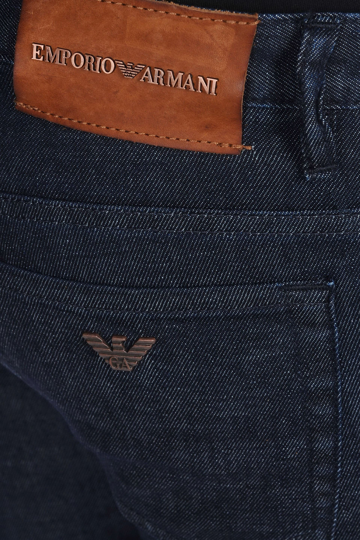 7d06dca78d Emporio Armani Blue Slim Fit Dark Wash Jeans for men