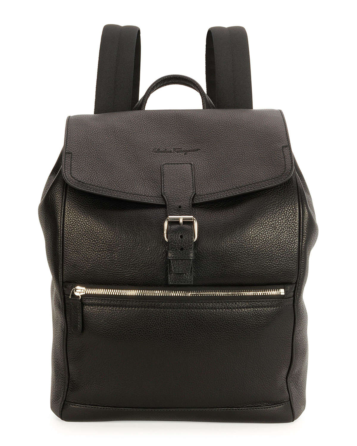 Womens lined leather gloves - Ferragamo Manhattan Leather Backpack In Black For Men Lyst