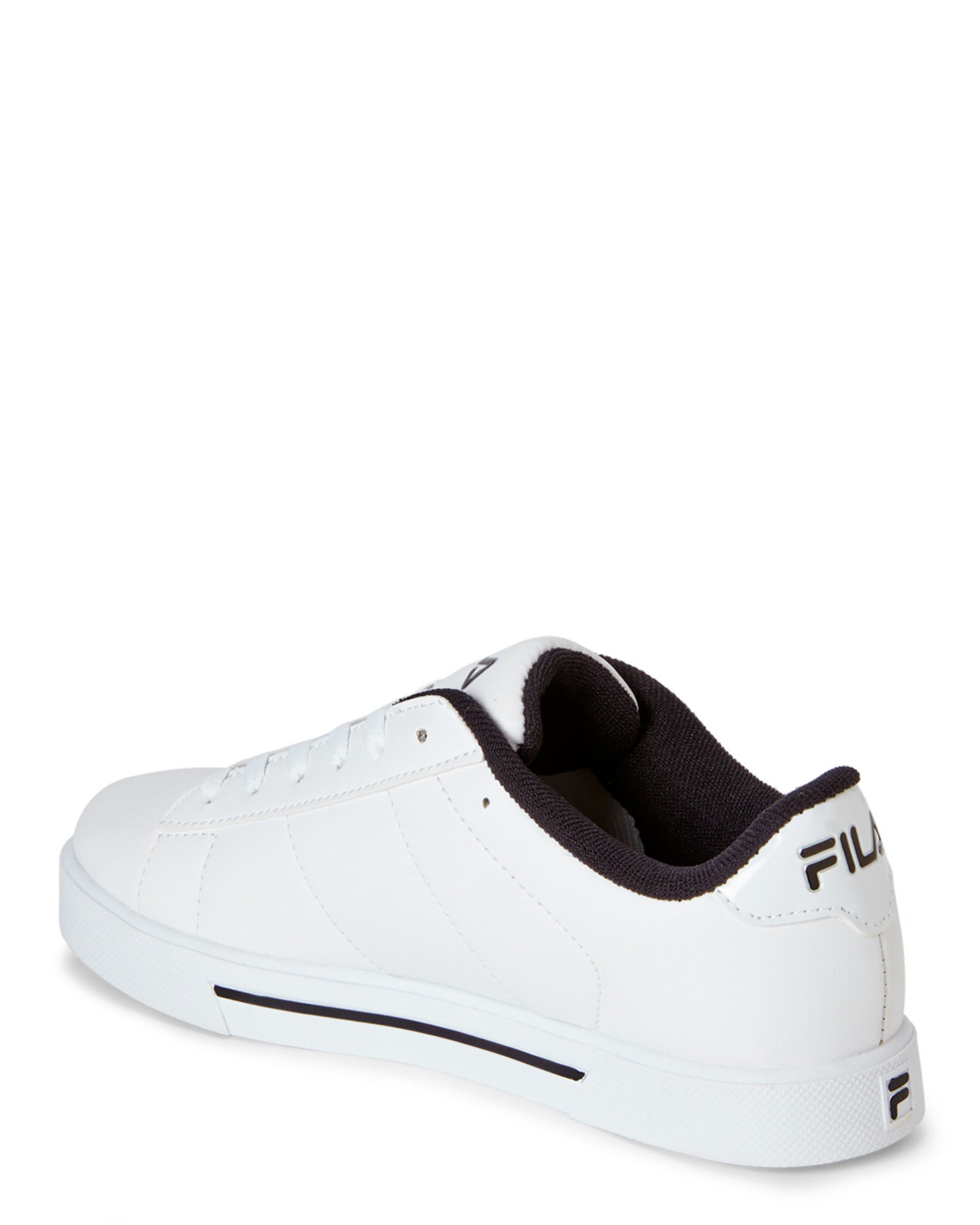 873b8fc88f39 Lyst - Fila White   Black Benefactor Sneakers in White