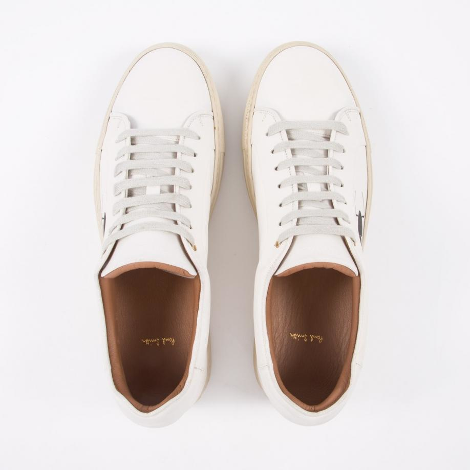 OFF-WHITELeather Low Trainers BcL8wf9r