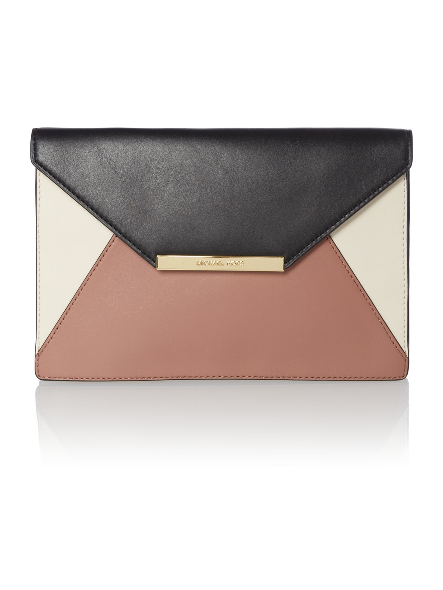 Michael kors Lana Multi Coloured Envelope Clutch Bag in ...