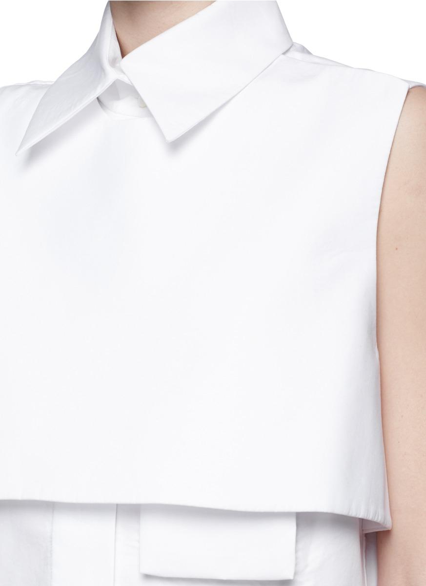 Ellery dress white shirt.