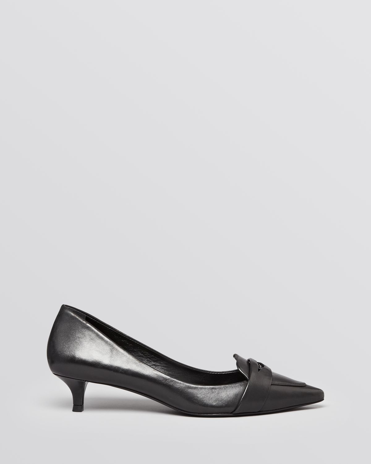 91be8d6ea95 Lyst - Tory Burch Pointed Toe Pumps - Bronson in Natural
