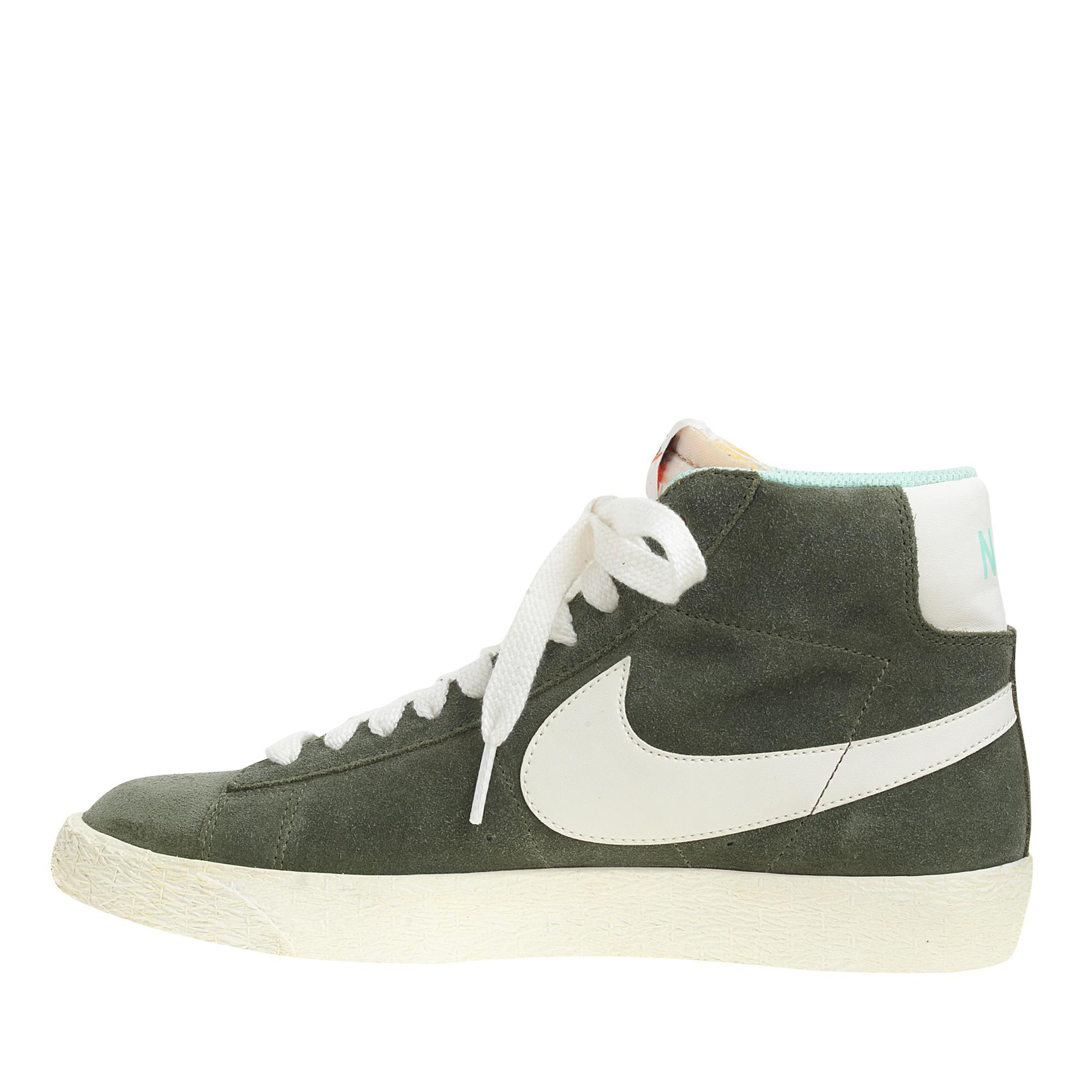 on sale arrives new appearance Women's Nike Suede Blazer Mid Vintage Sneakers