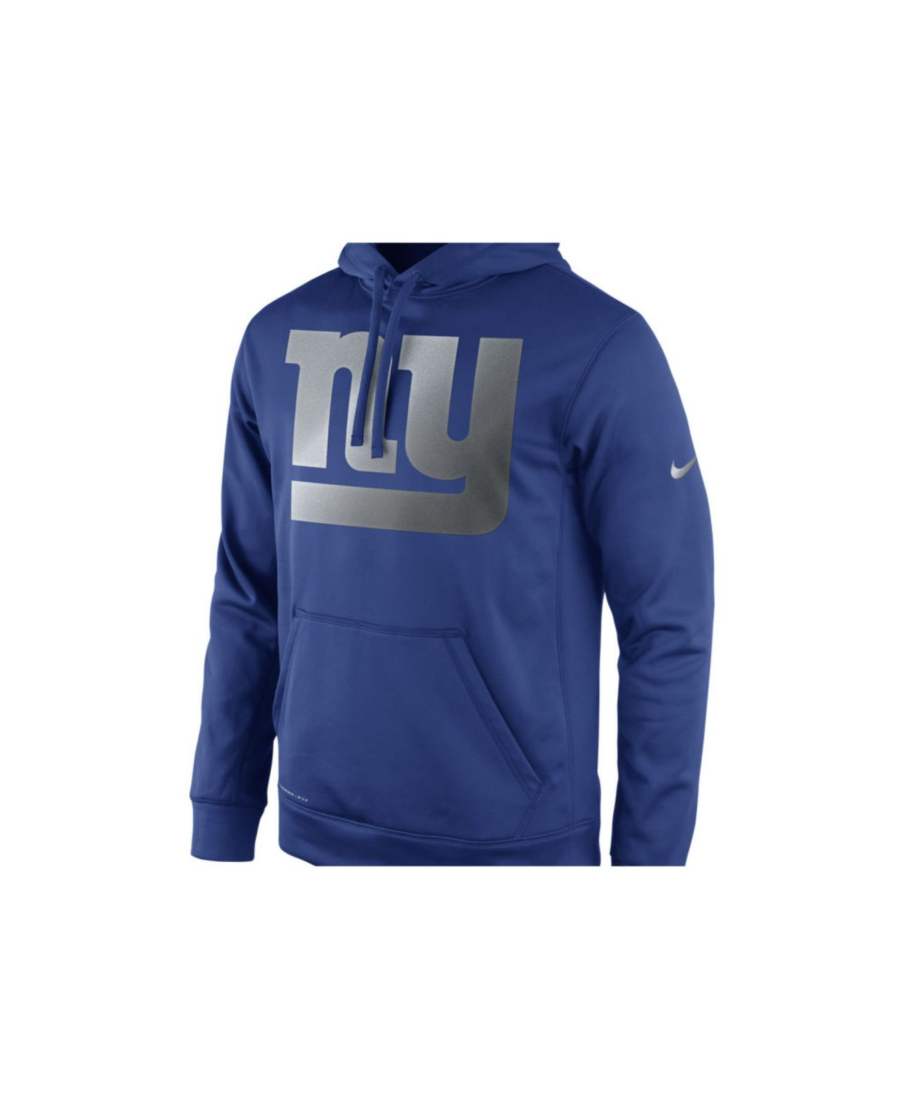 Men S New York Giants Nike Royal Blue Ko Speed Performance