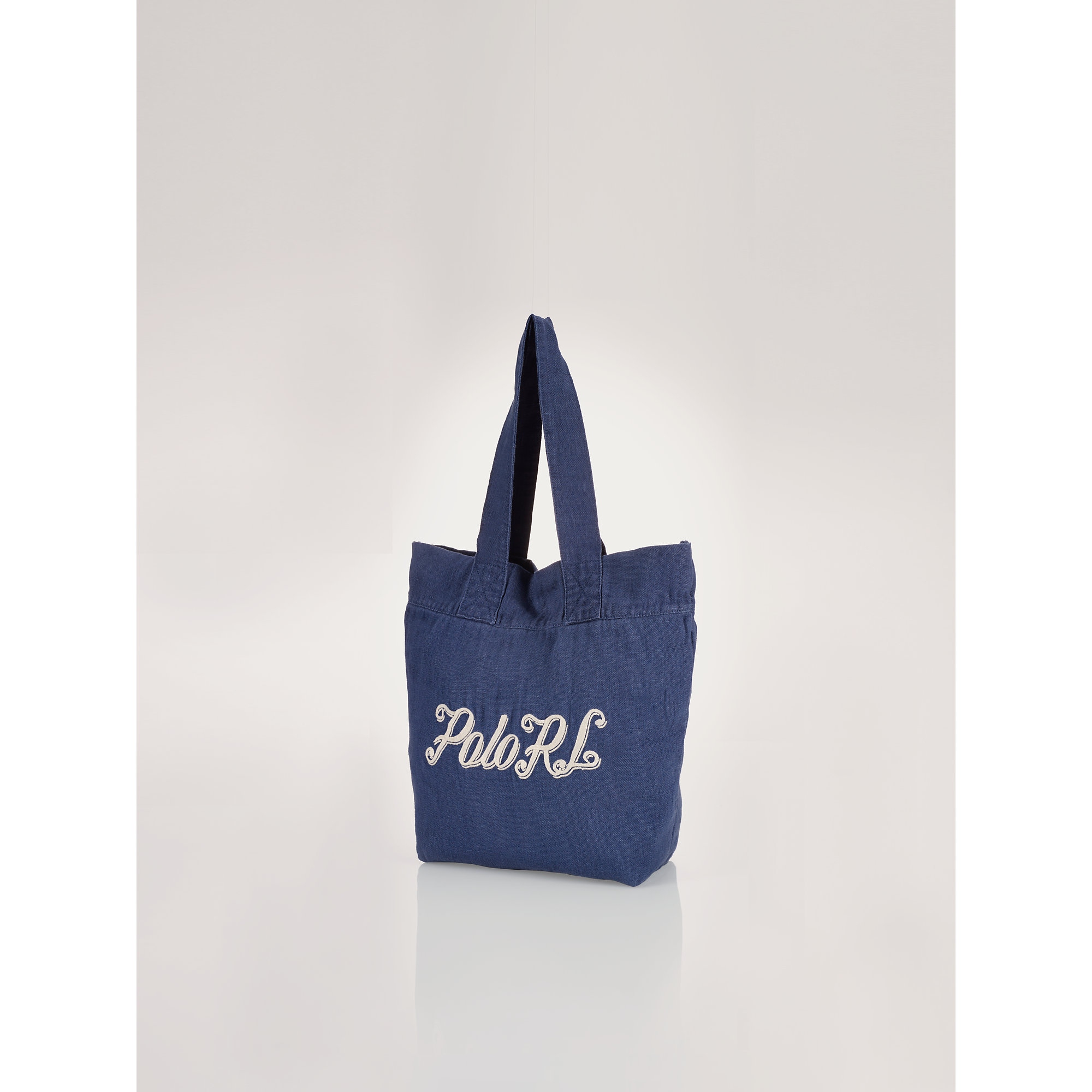 Polo ralph lauren Beach Tote in Blue | Lyst