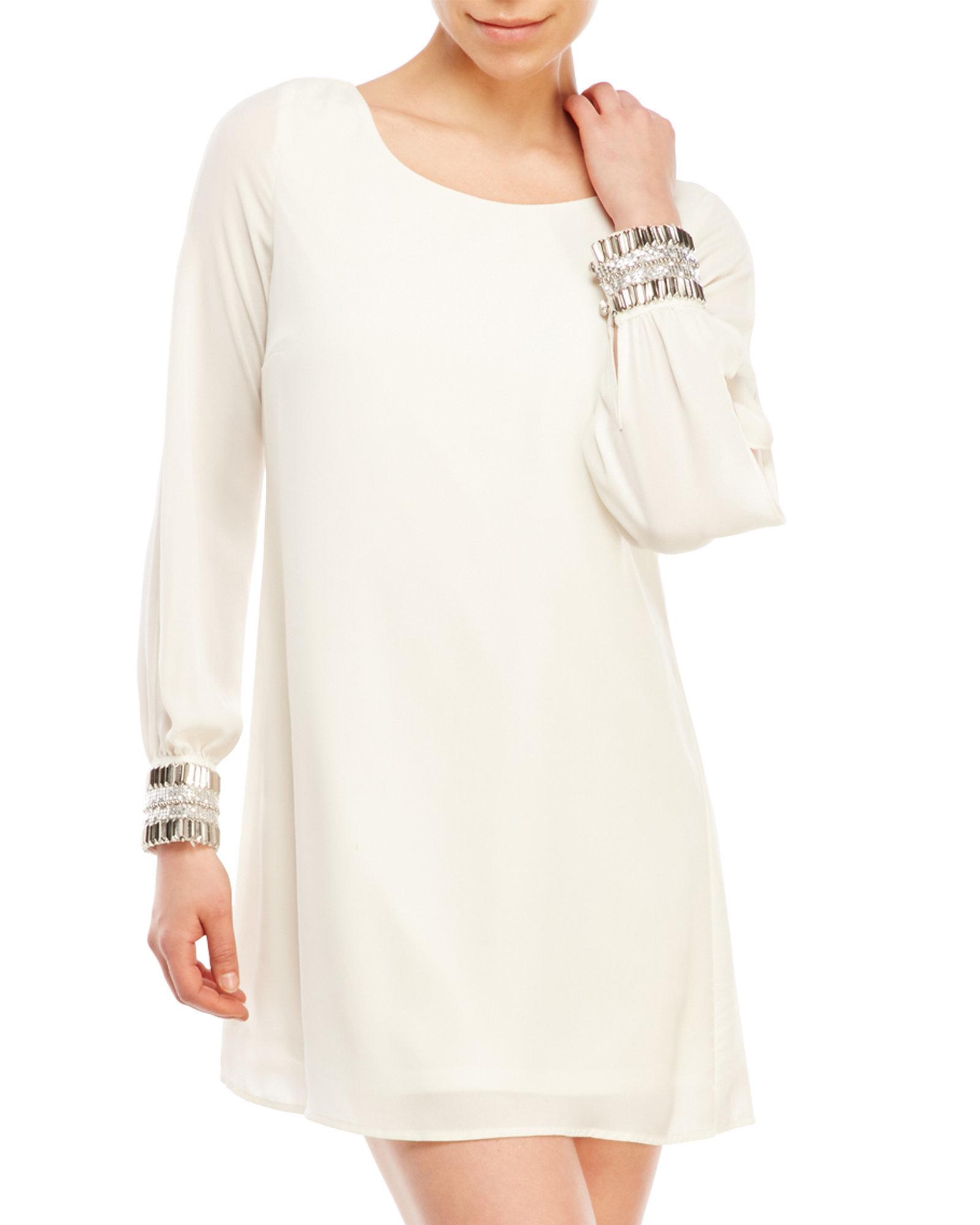Ivory Shift Dress