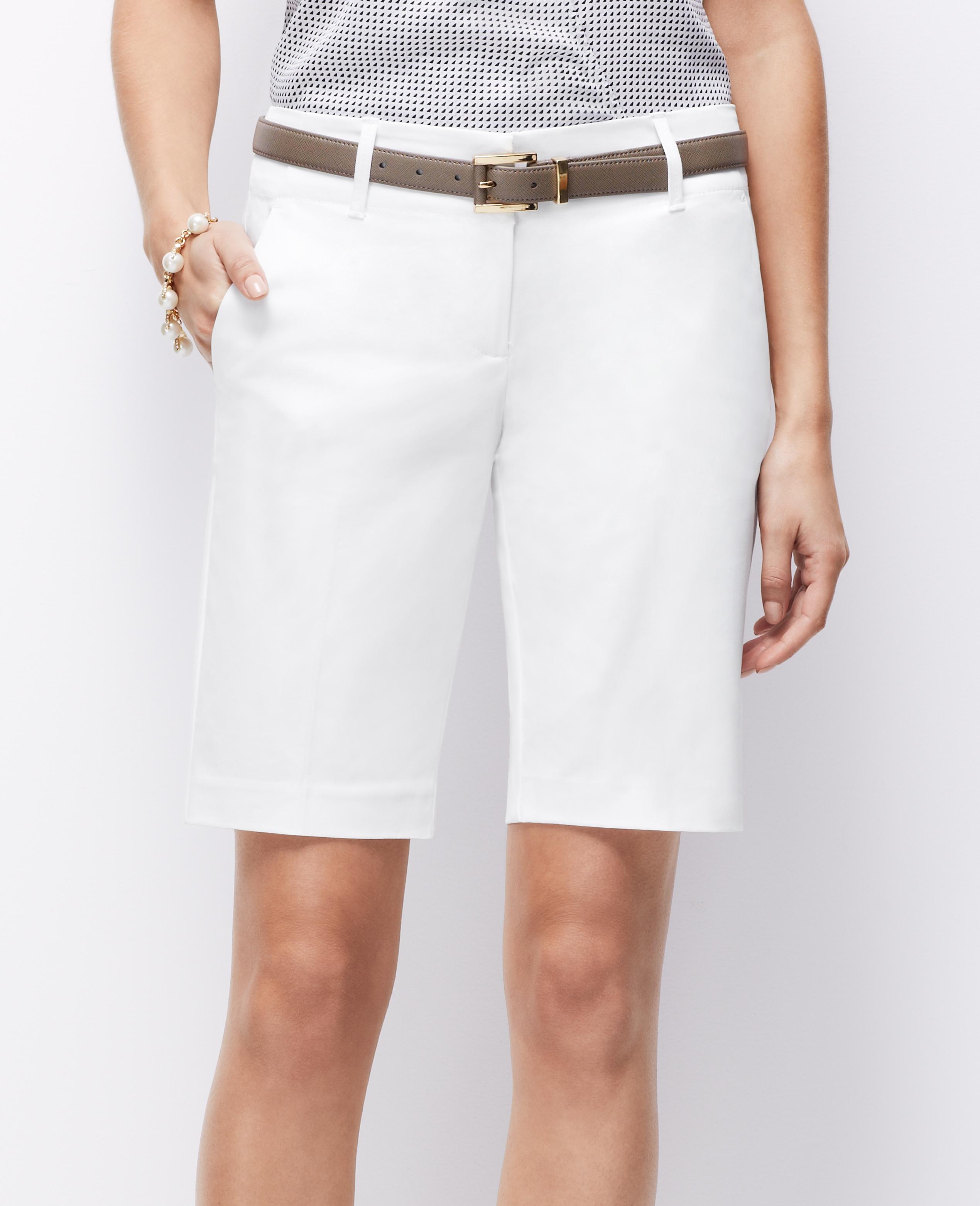 White Walking Shorts