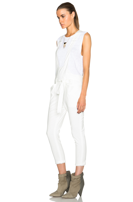 Images of White Linen Jumpsuit - fashionshoponline