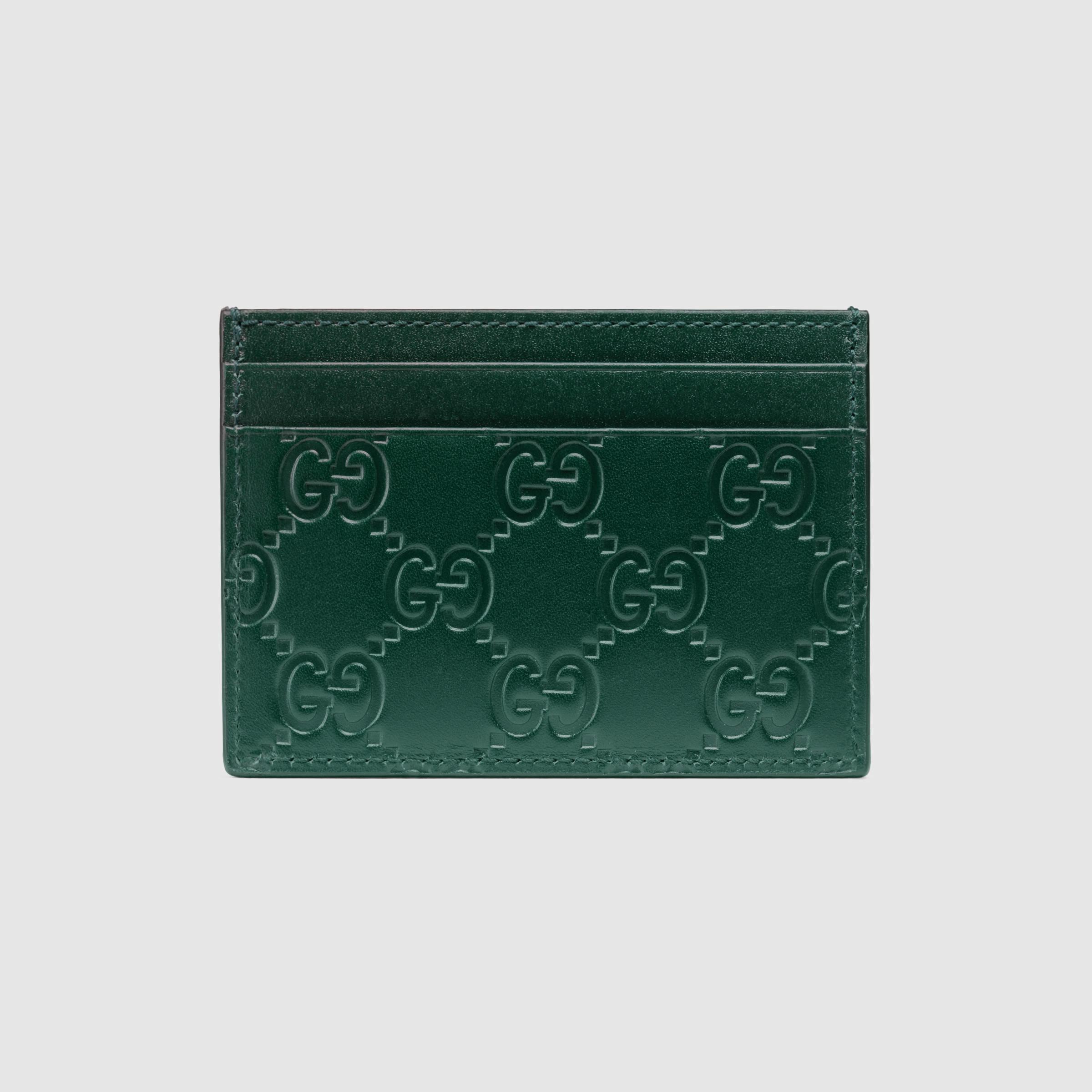 4739d682c6229 Gucci Signature Card Case Price