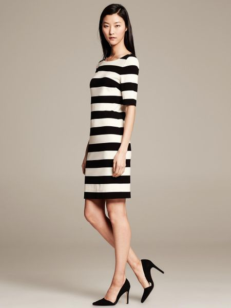 Bold Stripe t Shirt Dress