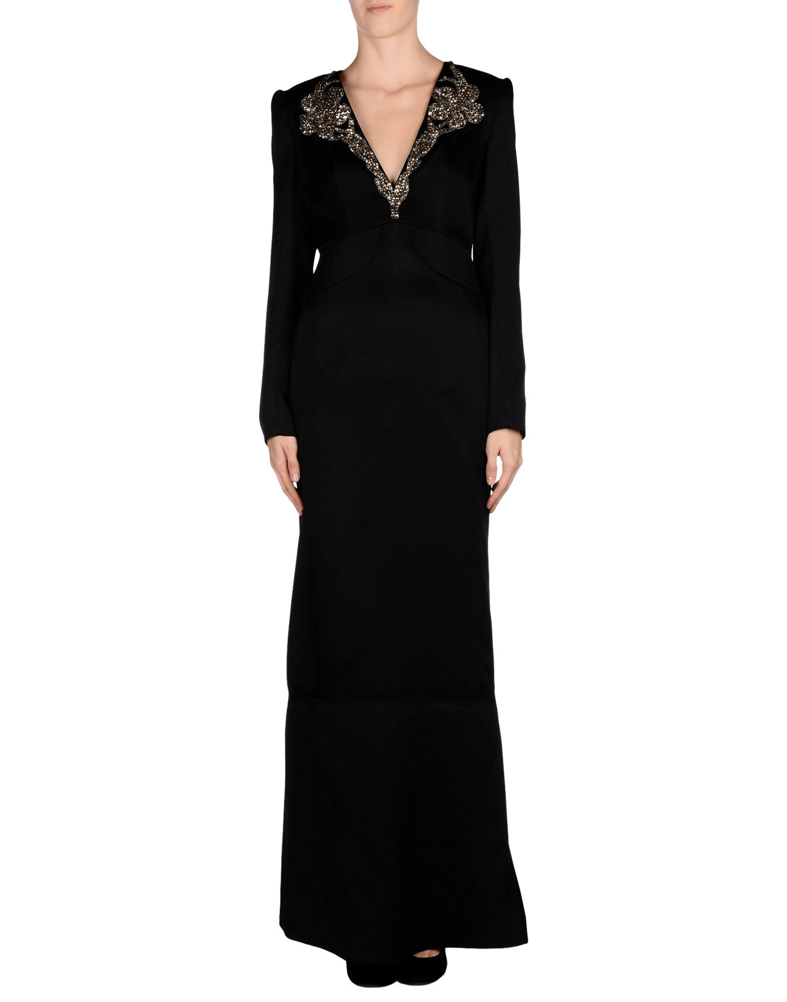 Alexander mcqueen Long Dress in Black