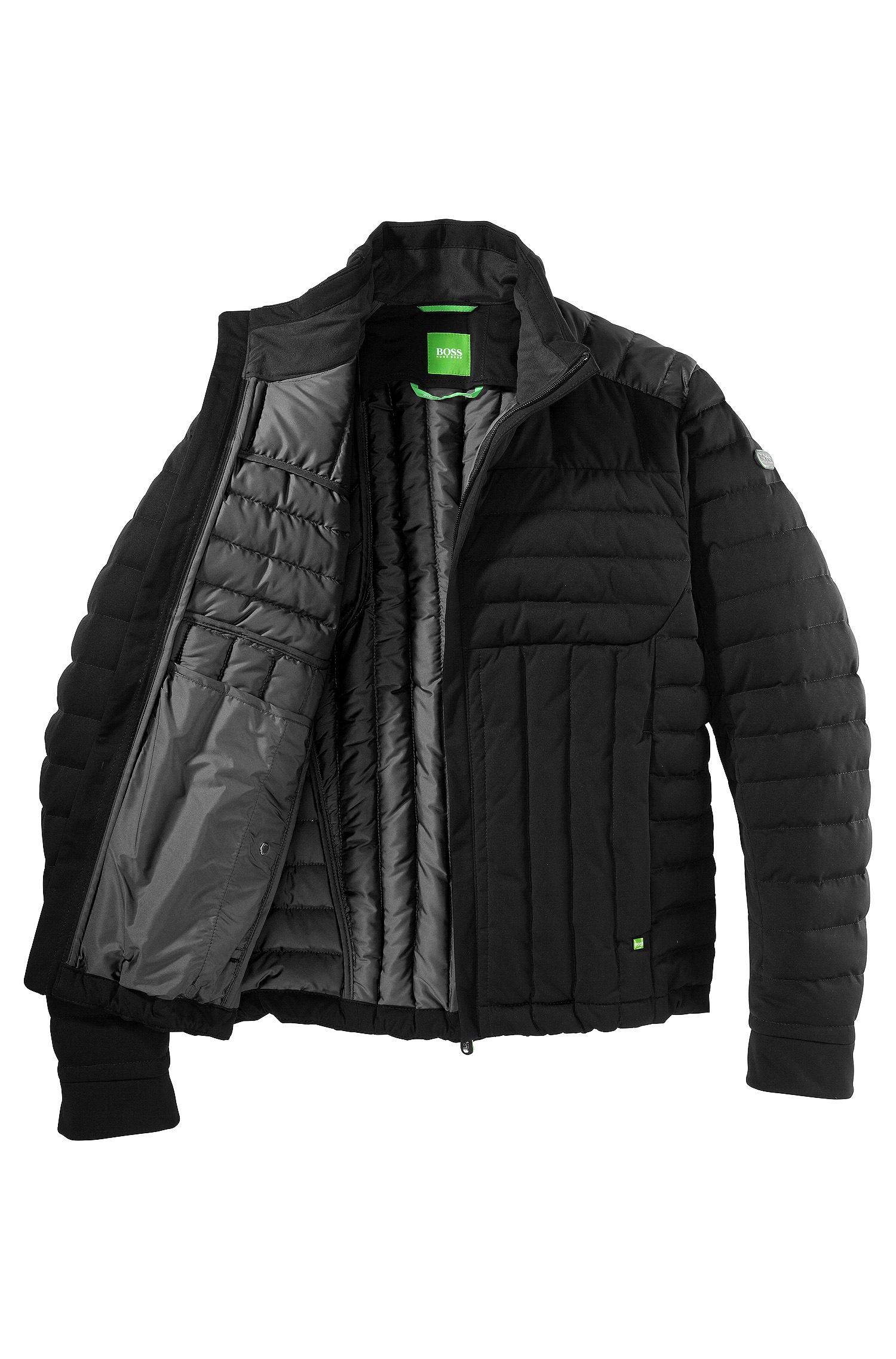 fadd71470a4 BOSS Green Down Jacket  Jessino  in Black for Men - Lyst