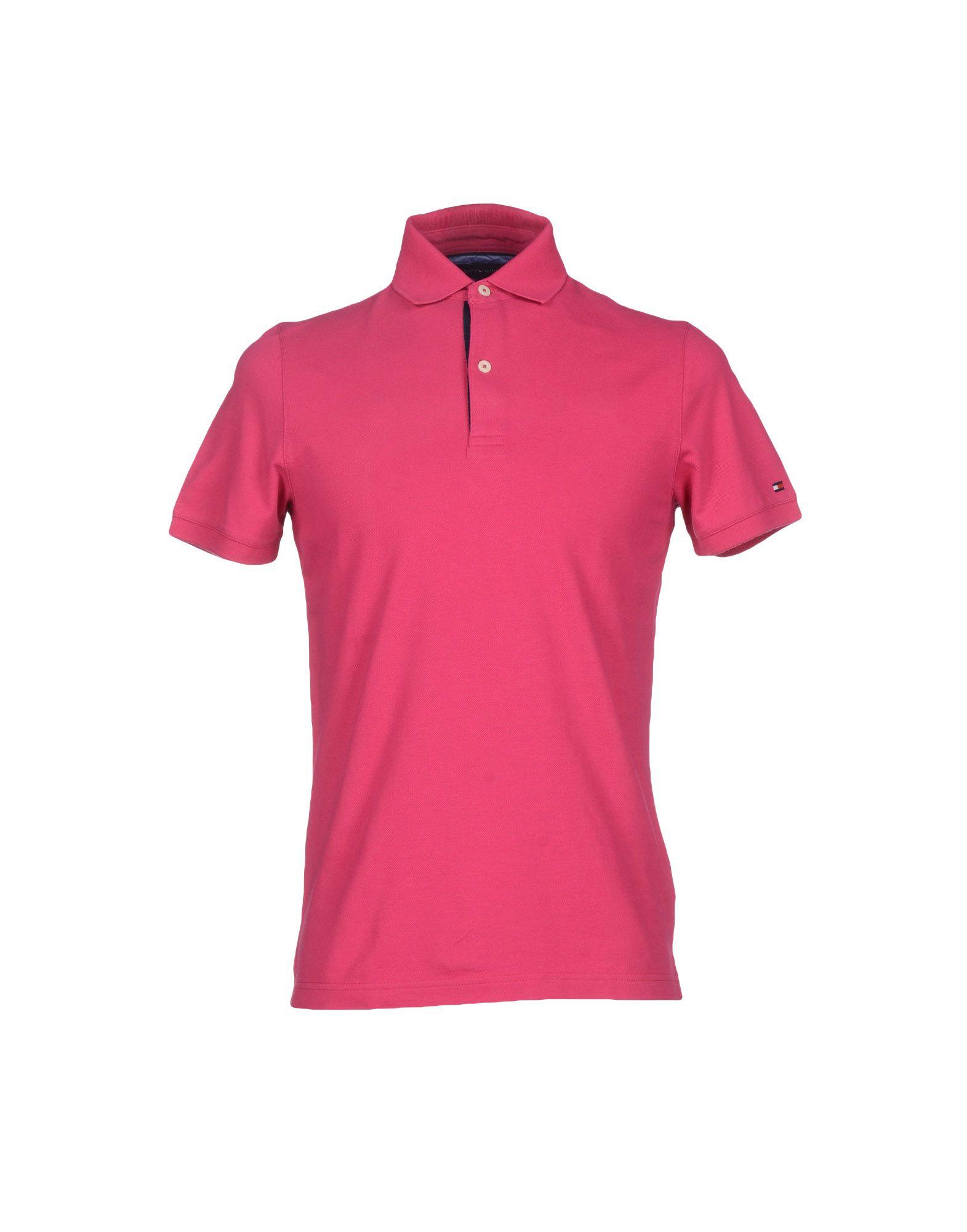 tommy hilfiger polo shirt in purple for men garnet lyst. Black Bedroom Furniture Sets. Home Design Ideas