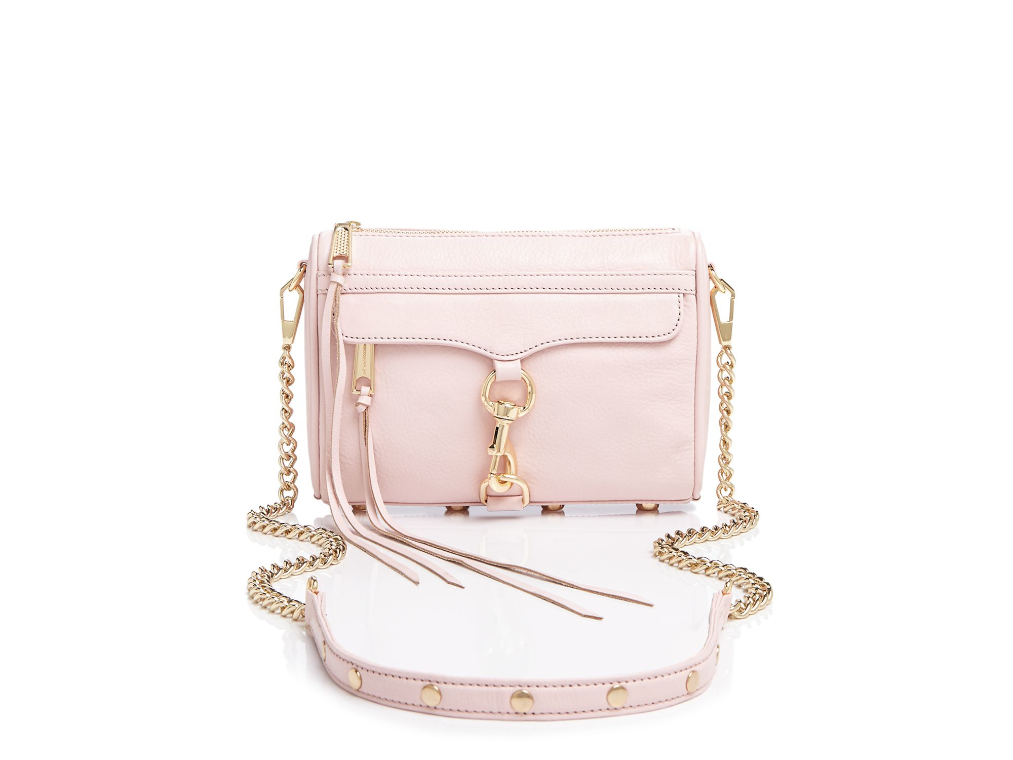 f4d101bbab6 Rebecca Minkoff Pink Crossbody - Mini Mac