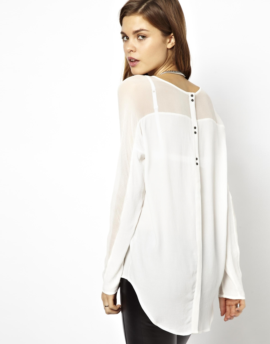 Find women back button blouse at ShopStyle. Shop the latest collection of women back button blouse from the most popular stores - all in one place.