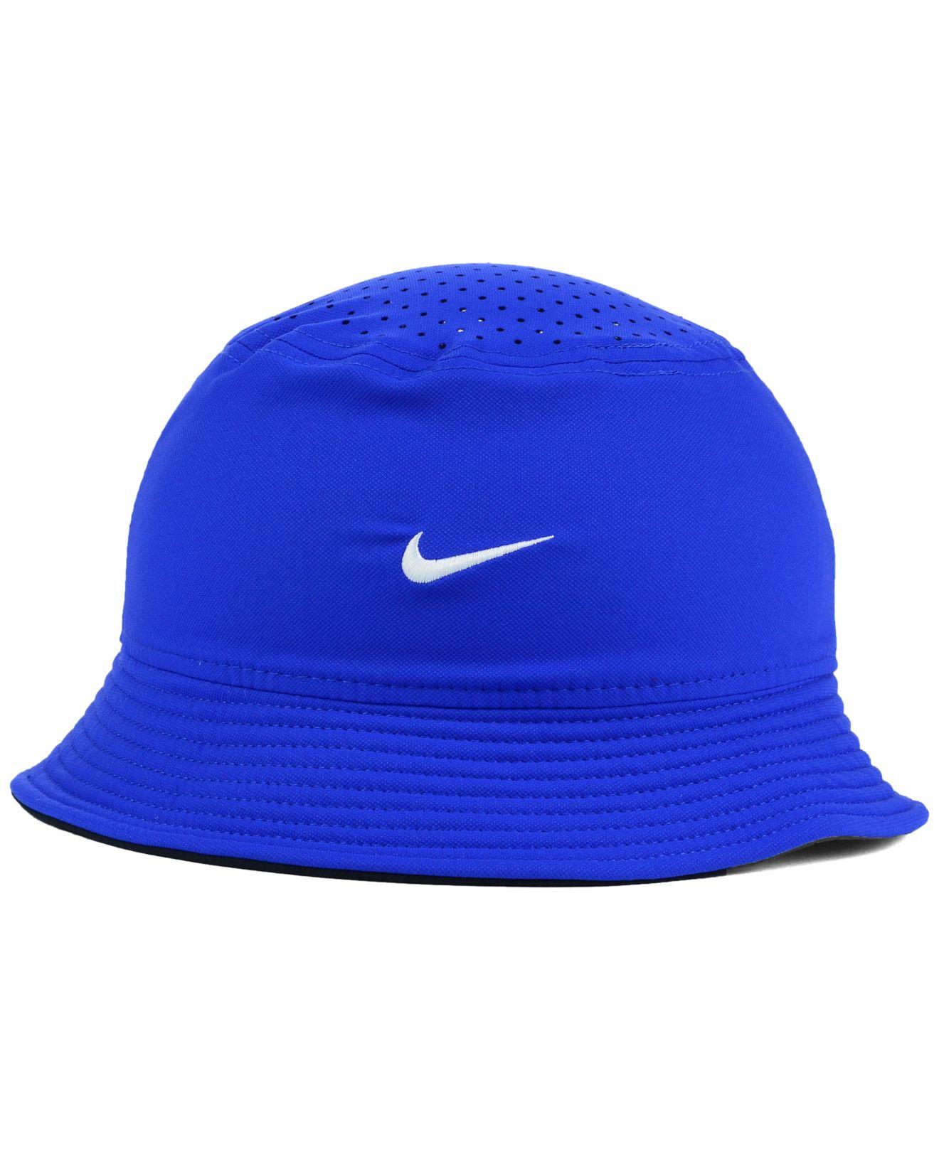 Nike Kentucky Wildcats Vapor Bucket Hat in Blue for Men | Lyst