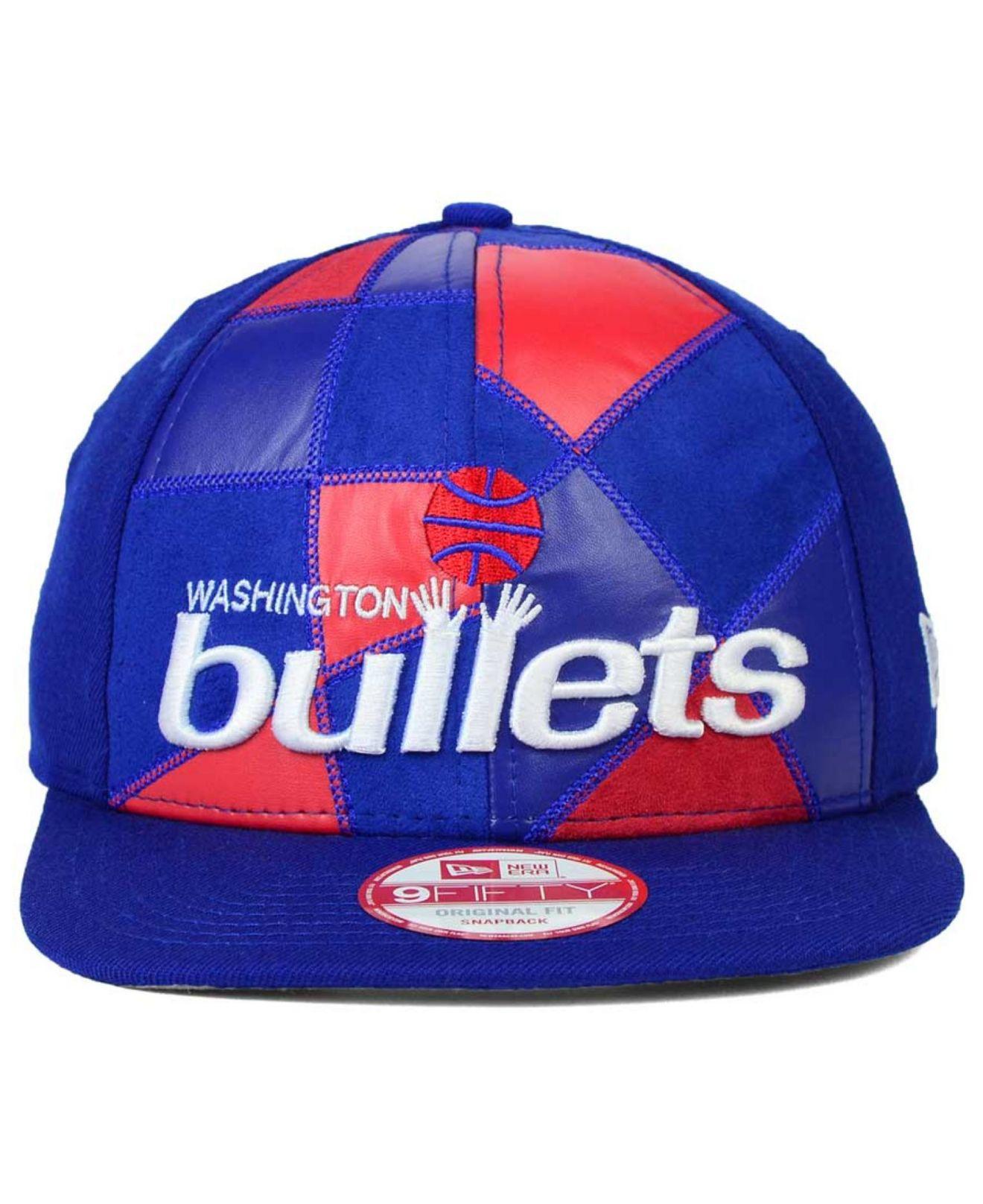 huge discount de81d b0e15 KTZ Washington Bullets Nba Hwc Cut   Paste 9fifty Snapback Cap in ...