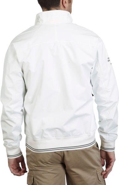 Henri Lloyd Carlson Bomber Jacket In White For Men Lyst
